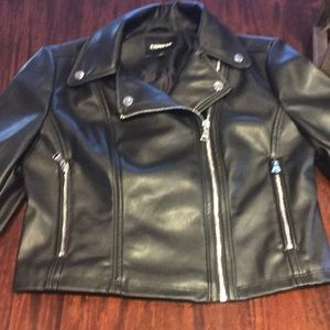 Motorcycle pleather  Jacket